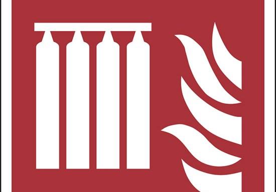(batteria fissa bombole antincendio – fixed fire extinguishing battery)
