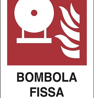 BOMBOLA FISSA ANTINCENDIO