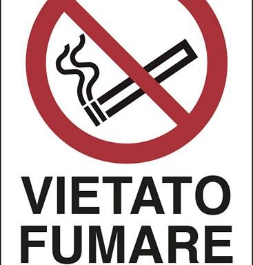 VIETATO FUMARE OLTRE QUESTO LIMITE