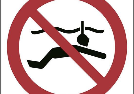 (niente snorkelling – no snorkelling)