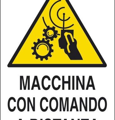 MACCHINA CON COMANDO A DISTANZA
