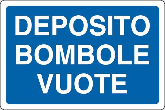 DEPOSITO BOMBOLE VUOTE