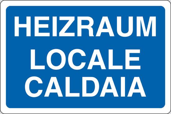 HEIZRAUM LOCALE CALDAIA