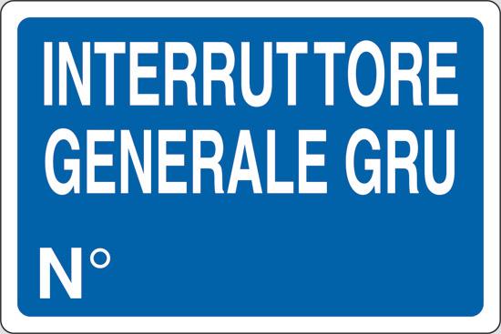 INTERRUTTORE GENERALE GRU N