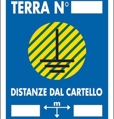 DISPERSORE DI TERRA N __DISTANZE DAL CARTELLO M