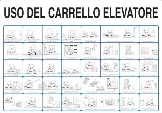 USO DEL CARRELLO ELEVATORE