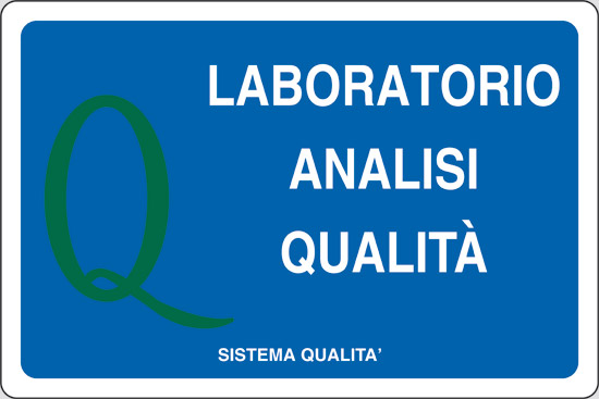 LABORATORIO ANALISI QUALITA'