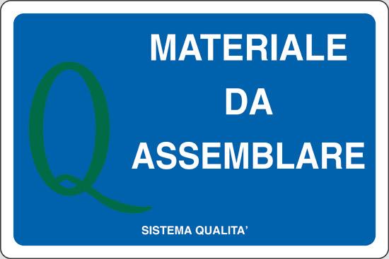 MATERIALE DA ASSEMBLARE