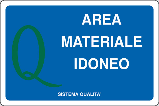 AREA MATERIALE IDONEO