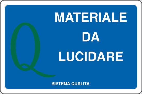 MATERIALE DA LUCIDARE