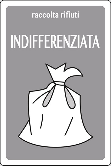 raccolta differenziata INDIFFERENZIATA
