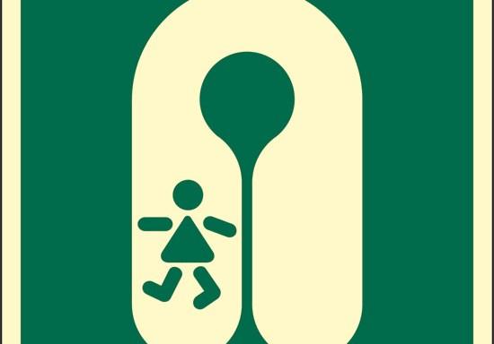(giubbotto di salvataggio per bambini) luminescente