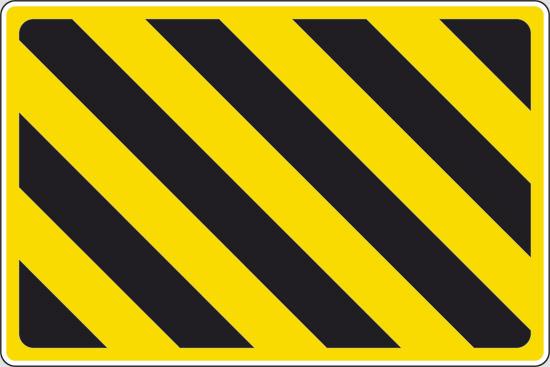 fasce giallo nere