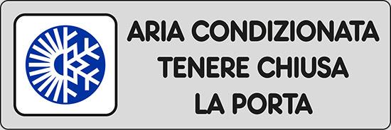 ARIA CONDIZIONATA TENERE CHIUSA LA PORTA