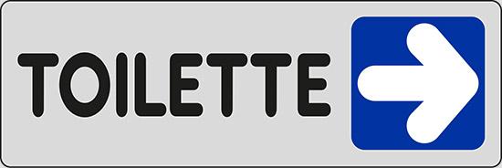 TOILETTE (a destra)