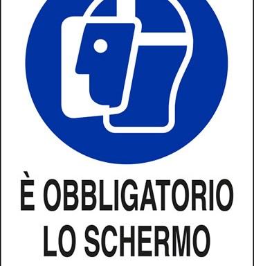 E' OBBLIGATORIO LO SCHERMO PROTETTIVO