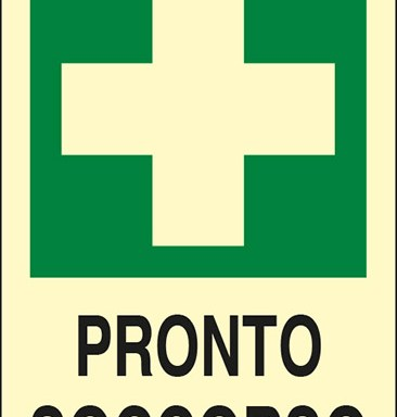 PRONTO SOCCORSO luminescente