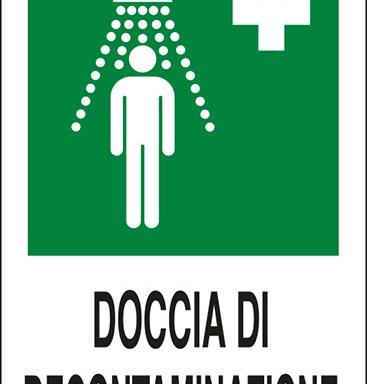 DOCCIA DI DECONTAMINAZIONE