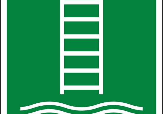 (scaletta per l'imbarco/biscaglina – embarkation ladder)