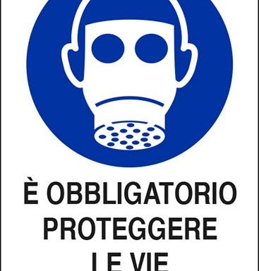 E' OBBLIGATORIO PROTEGGERE LE VIE RESPIRATORIE