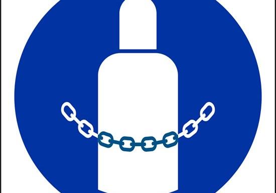 (fissare le bombole – secure gas cylinders)