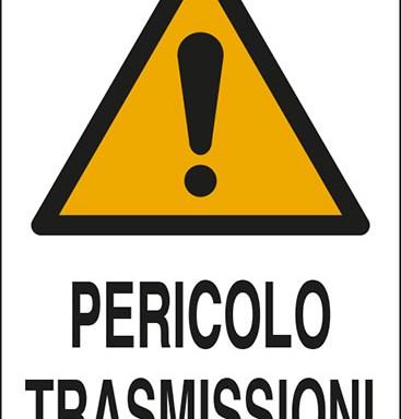 PERICOLO TRASMISSIONI