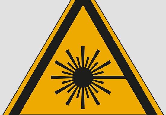 (warning: laser beam)