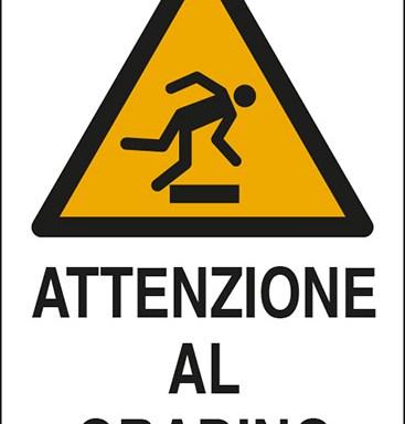 ATTENZIONE AL GRADINO