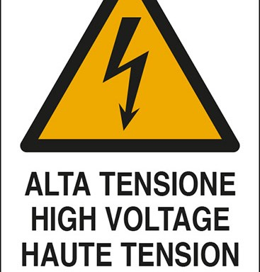 ALTA TENSIONE HIGH VOLTAGE HAUTE TENSION HOCHSPANNUNG