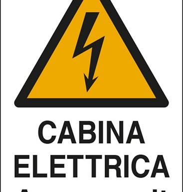 CABINA ELETTRICA A volt