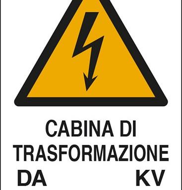 CABINA DI TRASFORMAZIONE DA KV A V