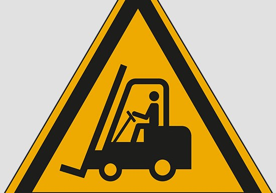 (warning: forklift trucks and other industrial vehicles)