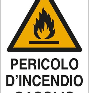 PERICOLO D'INCENDIO GASOLIO