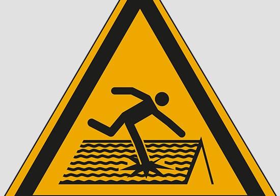 (warning: fragile roof)