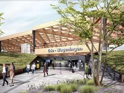 Aanbesteding nieuwbouw station Ede- Wageningen stopgezet