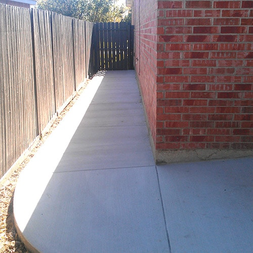 Residential Concrete - After