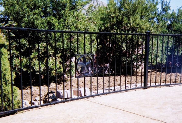 Residential Ornamental Iron Fences