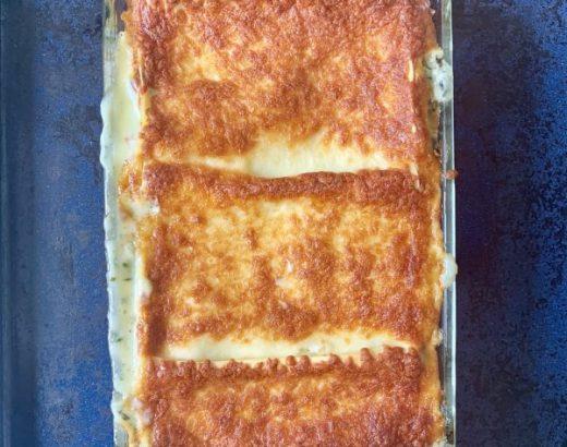 Lasagne-spinazie-zalm-bechamel