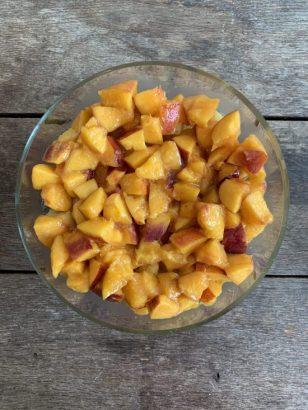 Trifle met nectarines 2