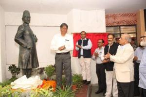 Jamia unveiled the 'Statue of Maulana Abul Kalam Azad' on its campus