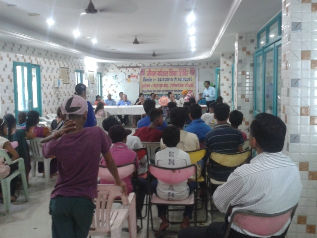 Guests delivering lectures on various topics