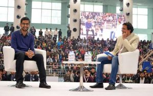 THE SRCC RENDEZVOUS WITH GOOGLE CEO, SUNDAR PICHAI