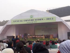 Jamia Millia Islamia holds its Annual Convocation-2015