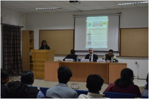 "Seminar on ""Poor man's source of Protein""  organised by Miranda House"