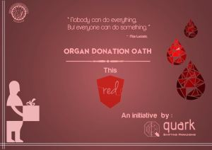 Give a Gift of Life, of hope.