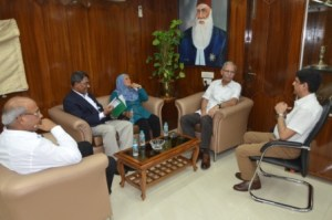 Maldives' National University Chancellor visits AMU