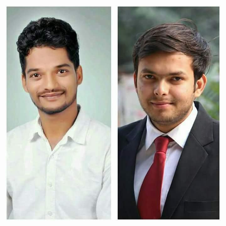 Two young student leaders of Allahabad University died on the spot when travelling with vice president