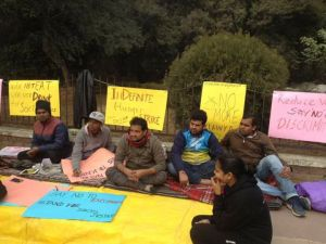 JNU administration asks students to call off hunger strike