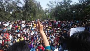 Ramjas controversy: Students protest against ABVP in Delhi University