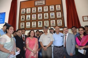 102 feet high national flag and 'Wall of War Heroes ' unveiled by Jamia's Chancellor Najma Heptulla
